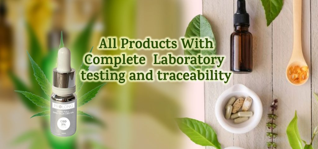 All Products With Complete Laboratory Testing and Traceability