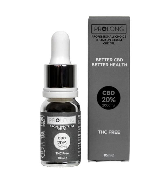Broad Spectrum 20% 2000mg 10ml +99.5% Pure CBD Oil