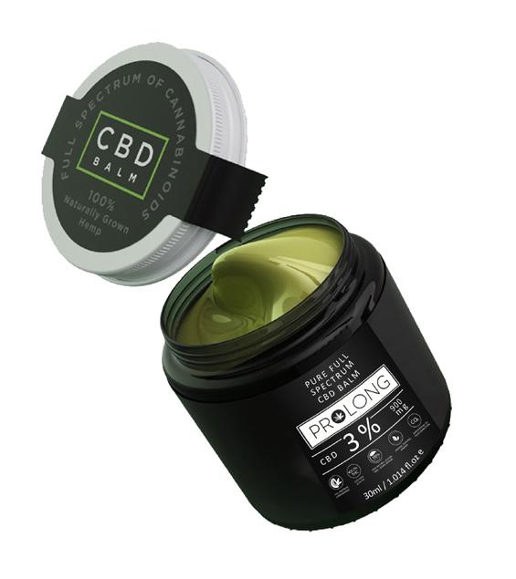 CBD Balm 30ml 3% Full Spectrum CBD Cream