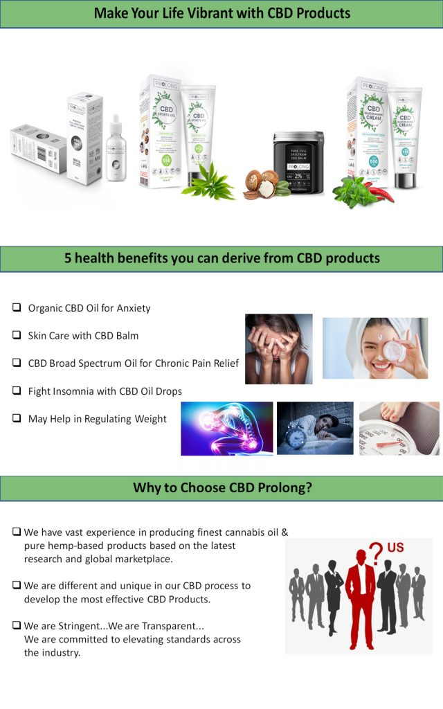 Make Your Life Vibrant with CBD Products